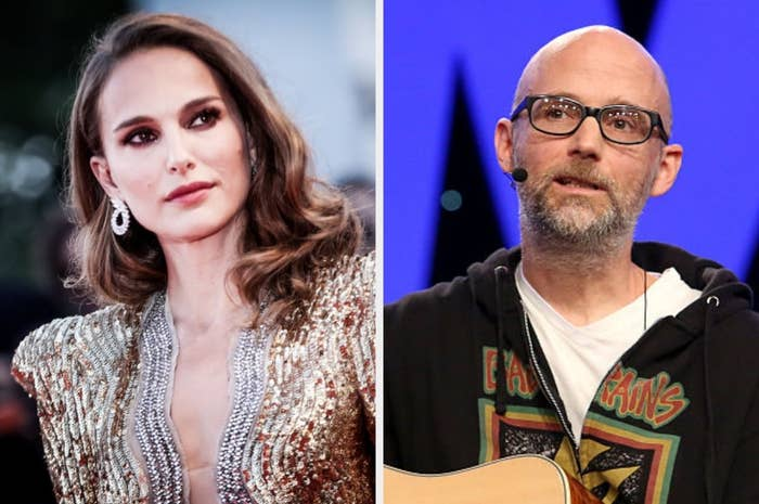 """Moby Keeps Insisting He Dated A Teenage Natalie Portman After She Called Those Claims """"Disturbing"""" And """"Creepy"""""""