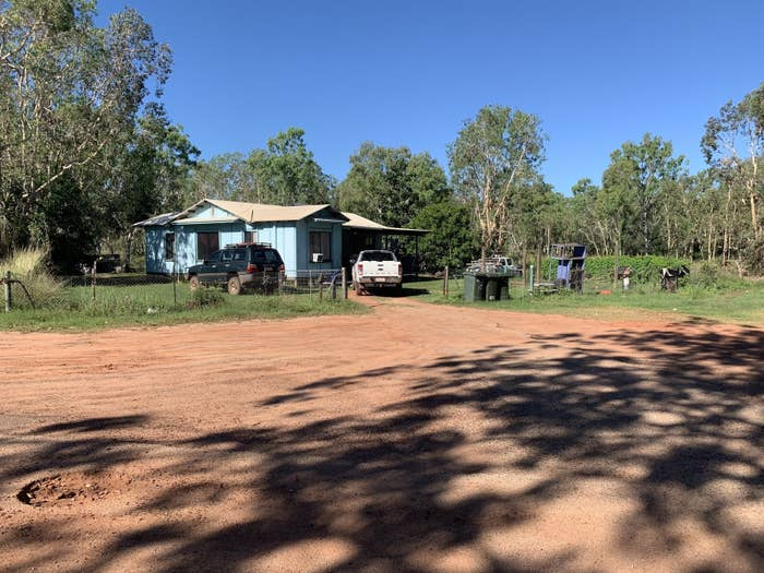 Friday's house in Borroloola's Yanyula town camp.