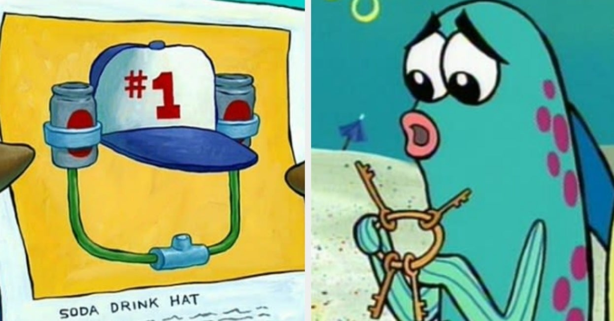 """If You Pass This """"SpongeBob"""" Quiz Then You're Officially A Resident Of Bikini Bottom"""