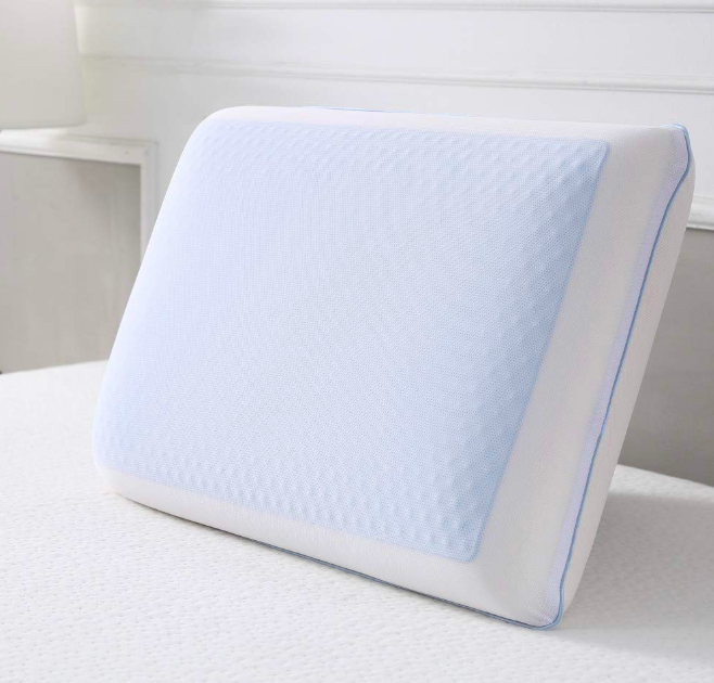 Classic brands cool gel reversible gel and memory foam bed pillow