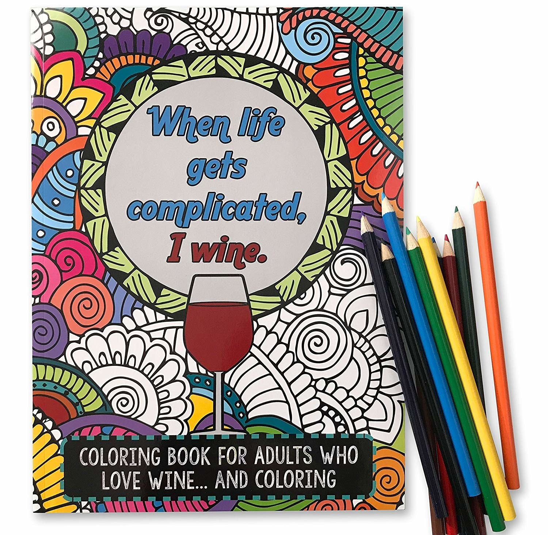 20 Hilarious Coloring Books That'll Definitely Help You De