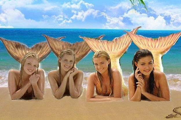 Which H2O Mermaid Are You?