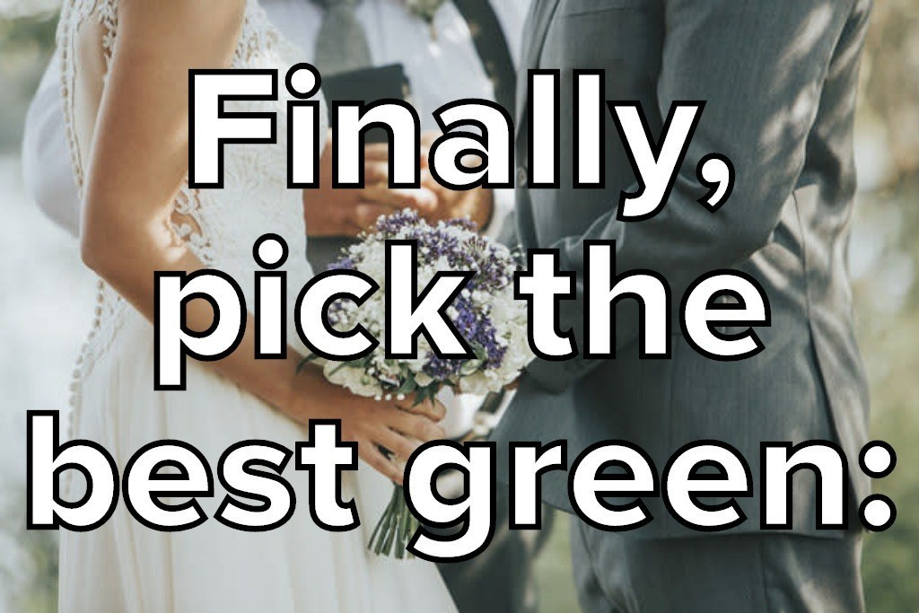 This Color Quiz Will Reveal When You're Getting Married