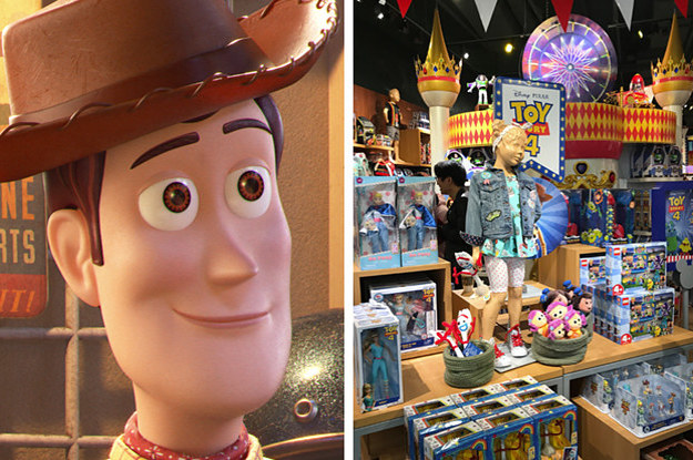 The Disney Store Is Getting A Toy Story 4 Makeover For The Month Of June And Its Super Cute