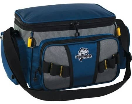 """Promising review: """"This tackle bag came in multiple colors; I purchased two. The fact that they were soft material and not hard made was a plus. When tossing them in your vehicle they don't do any damage. They are also much lighter in weight, making it easier when you are carrying them to your fishing spot. They're also great for kids!! It's sturdy, practical, and looks nice."""" —tacklemaniaPrice: $11.85 (available in two colors)"""