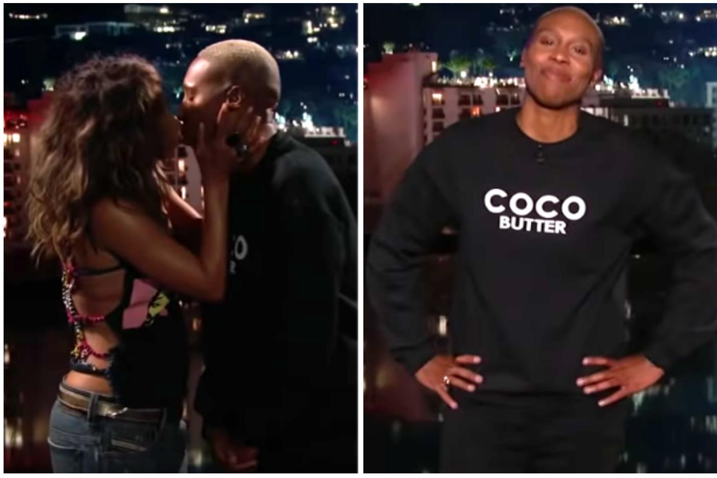 ICYMI, Halle Berry Kissed Lena Waithe Cuz She Was Nervous About Hosting Jimmy Kimmel Live!