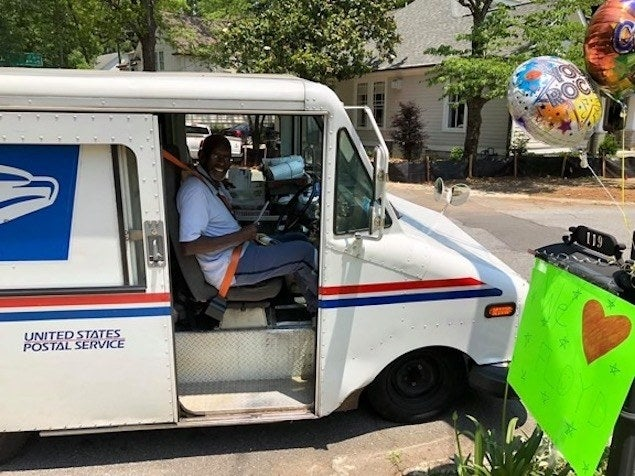Beloved Georgia Mailman Floyd Martin Retires With A Big Surprise Party