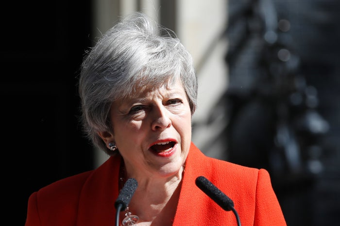 Theresa May Will Step Down As Tory Leader On June 7