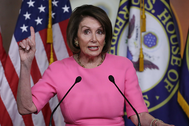 Facebook Says It Won't Take Down A Doctored Video Of Nancy Pelosi That They Know Is Fake