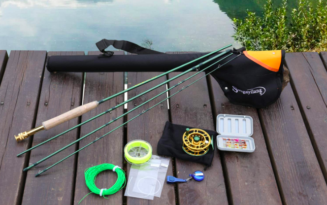 Sougayilang rod fishing combo set