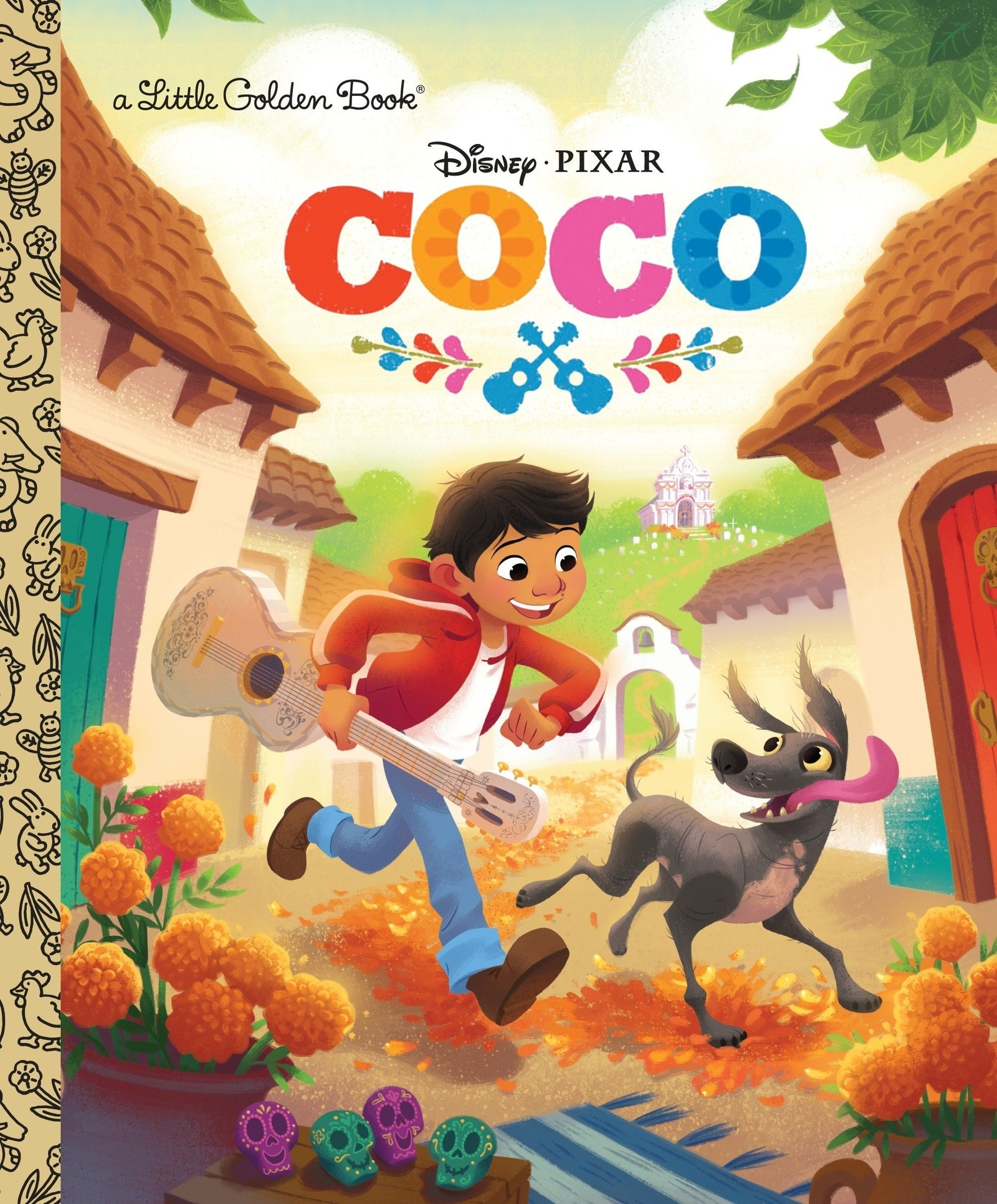 A Little Golden Book of Disney Pixar's Coco.