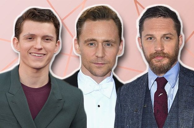 Quiz: Is Your Soulmate Tom Hiddleston, Tom Holland, Or Tom