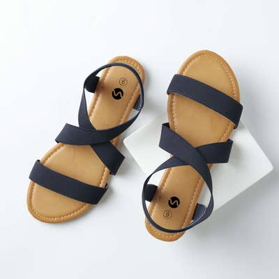 a7573867fb11 Inexpensive strappy sandals because warm weather is NOW, pedicure season has  ARRIVED, and it's time to expose some toe to the world again.
