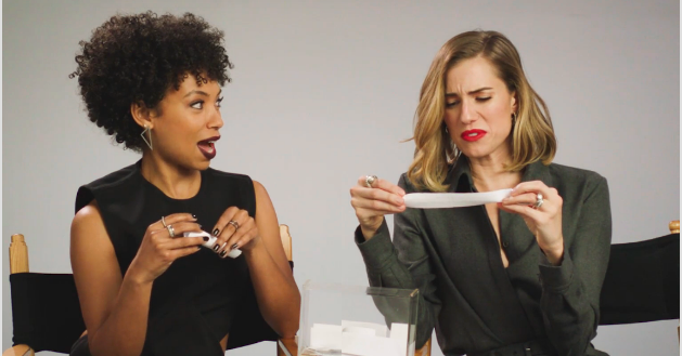 """The Perfection"" Stars Logan Browning And Allison Williams Played The Creepiest ""Would You Rather"" Game Ever"