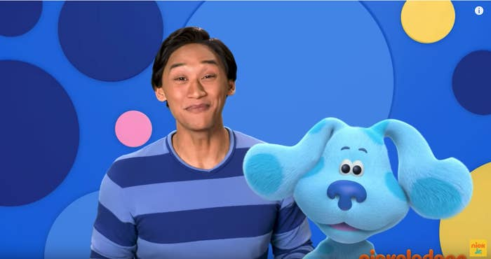 "Blue's Clues"" Is Back With A Filipino American Star And"