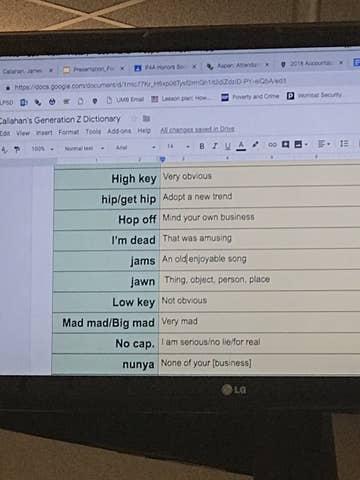 A High School Teacher Has A Running List Of