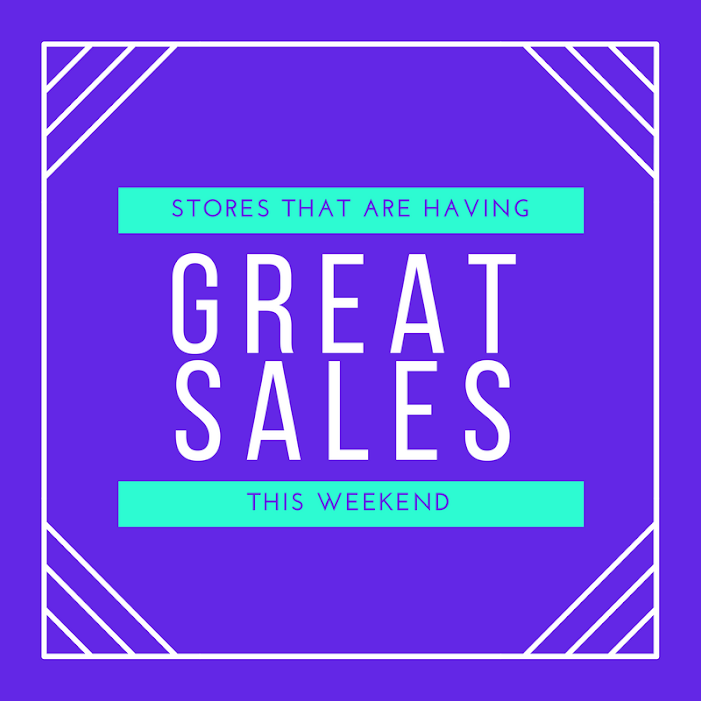 27 Stores That Are Having Great Sales This Weekend