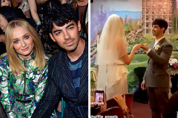 Joe Jonas And Sophie Turner Just Got Married In Las Vegas And Its The Cutest Thing Ive Ever Seen In My Life