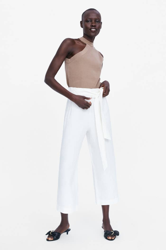 40e5c6be130c Crisp white pants to whip out on Memorial Day weekend.