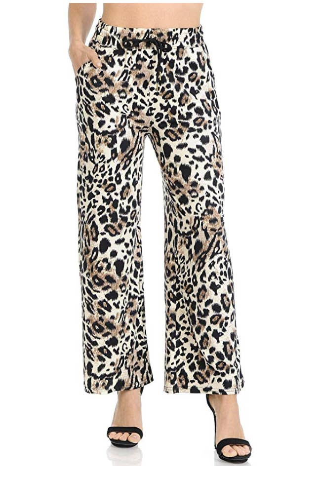 75996002fce8 Animal-printed drawstring pants to help you channel your wild side.
