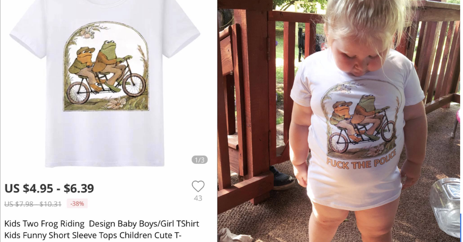 af025f84 An Illinois Mom Ordered A Shirt For Her 3-Year-Old From A Chinese Retailer  That Came With A