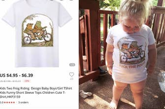 d49111aa A Mom Ordered A Cute Shirt For Her 3-Year-Old From A Retailer Based In  China But It Came With A, Uh, Unique Addition