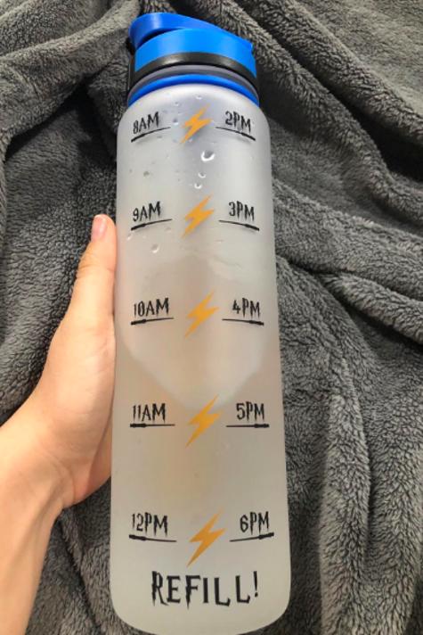 Botella de agua de Harry Potter