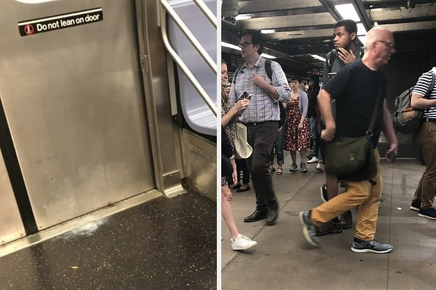 Firecracker Thrown In A New York City Subway Train Causes Chaos