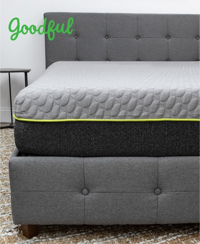 The high-density bottom layer maintains support and the non-skid bottom keeps the mattress in place all night. Get it from BuzzFeed's Goodful line, sold exclusively at Macy's for $1,024.99+ (available in sizes twin–Cal king).