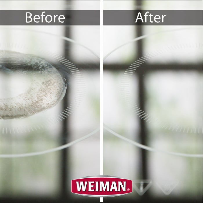 "Promising review: ""I just now tried this Weiman Cook Top Cleaner on my black stove top and it completely dissolved the baked on spots and drips. I sprayed it on and wiped with a paper towel to clean it, turned the paper towel over and polished it and it looks great! I didn't think it would shine so bright with it being a black surface but it does. I hate cleaning that cook top and now it's so easy!"" —MVMarcyPrice: $3.96 (available in a pack of two)"