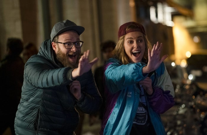 Seth Rogen And Charlize Theron's New Rom-Com Feels Painfully Timely