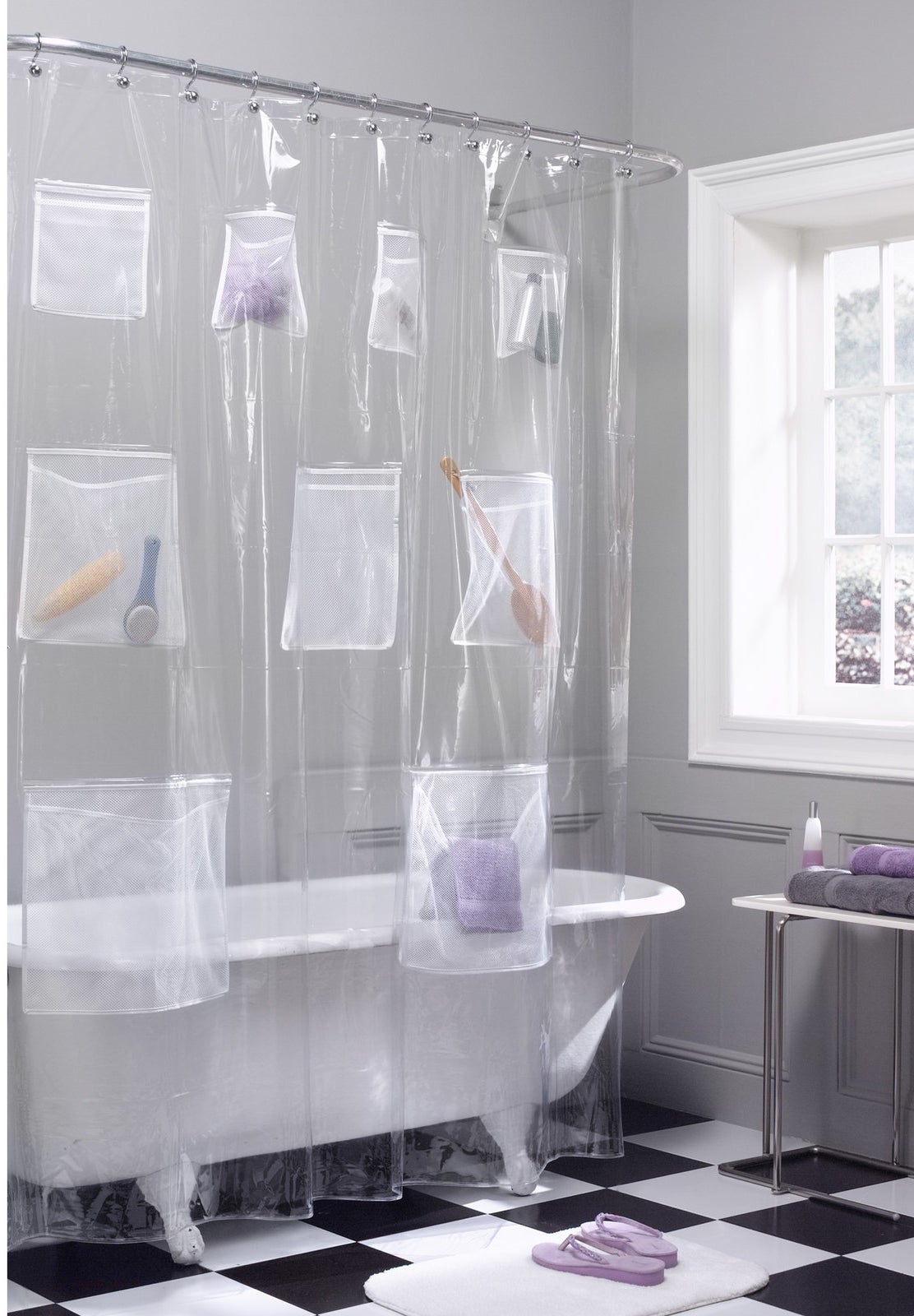 Walmart Bathroom Shower Curtains: 25 Things From Walmart That'll Give Your Home A Major Upgrade