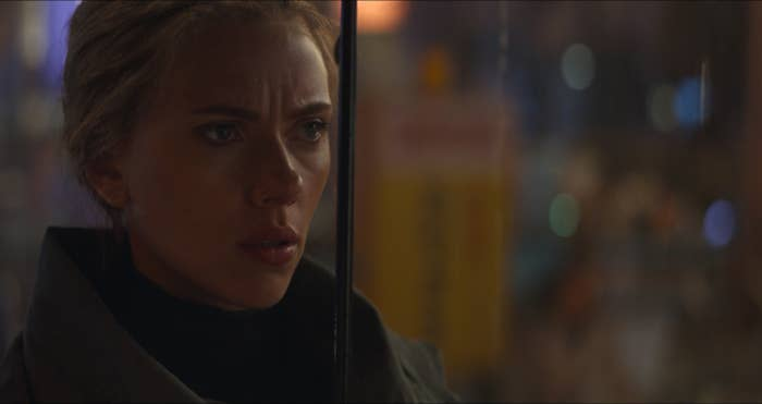 This Black Widow Moment From