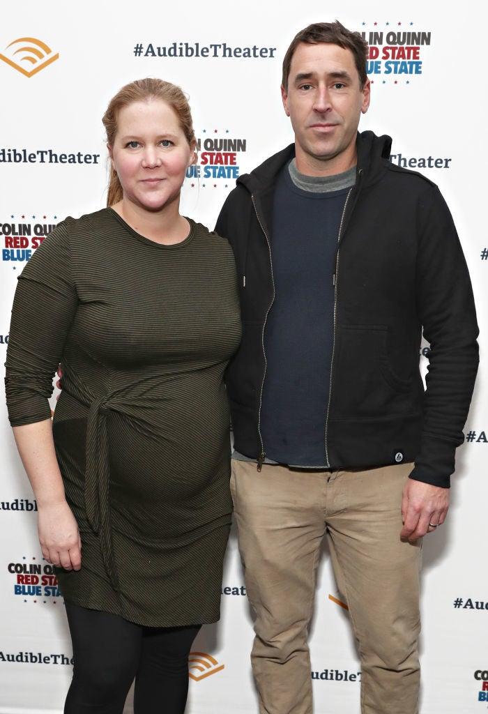 Amy confirmed her pregnancy last October.