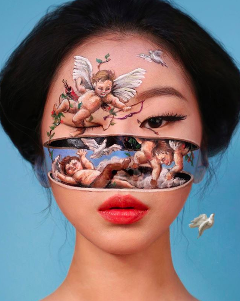 Face Painting Illusions And Balloon Art