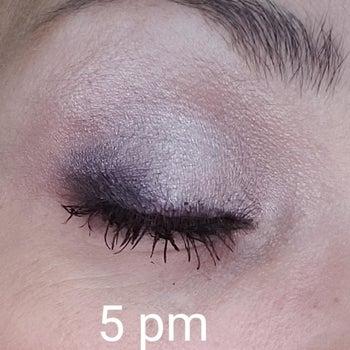 purple eyeshadow looking the same labeled