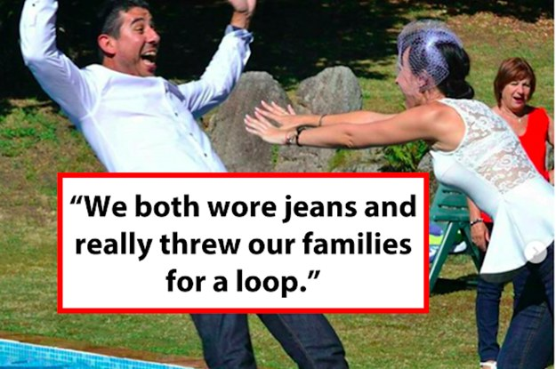 Here Are 21 More Ways Couples Totally Made Their Weddings Their Own