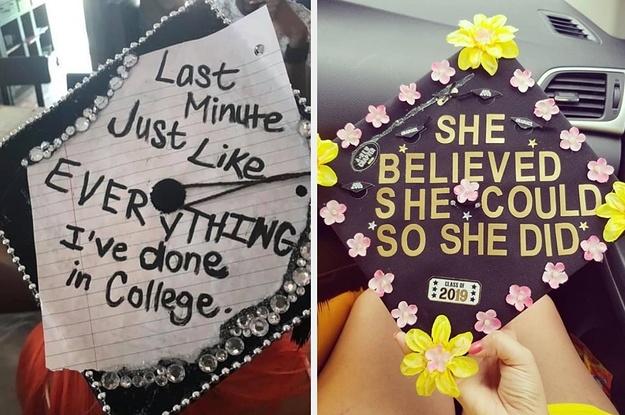 45 Insanely Creative Graduation Caps From 2017