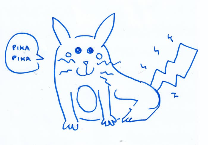 I Asked People To Try To Draw Pokemon From Memory