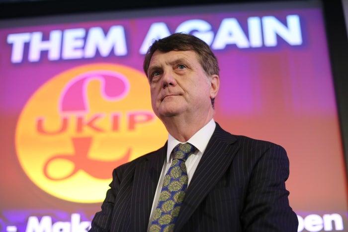 UKIP leader Gerard Batten.