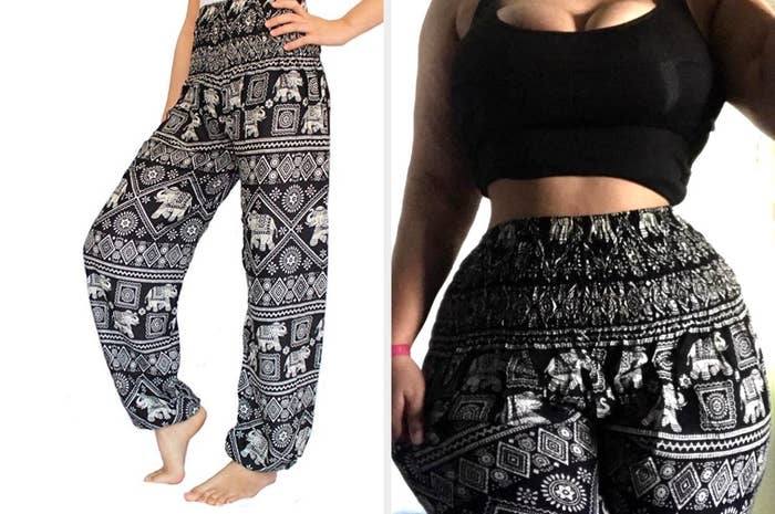 51448c8e9f94 Super cozy harem pants that you can break out for yoga class.