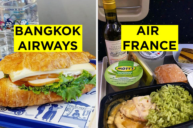 Here's The Meal You'll Be Served On 31 Different Airlines Around The World