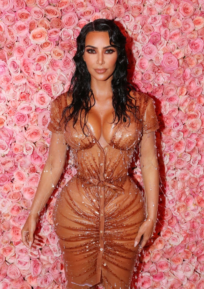 """The dress drew mixed opinions from critics, with some saying it didn't stick to the camp theme. However, Kardashian West revealed that as soon as the theme was announced, she and husband Kanye West immediately thought of Thierry Mugler because he """"invented camp""""."""