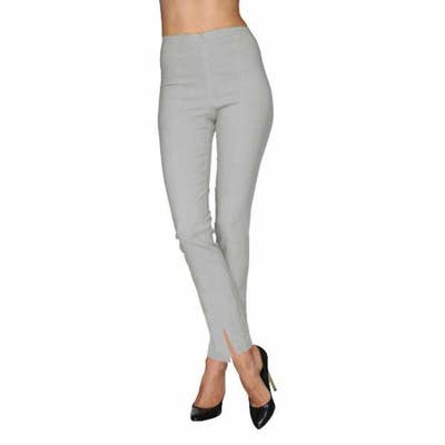 b84520e95a Cigarette pants with ankle slits for a stylish mix of dressy and casual at  the same time. They come in two lengths — long or ankle — so you can decide  how ...
