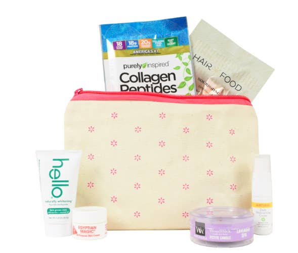 00f3733b6d9 A subscription to Walmart's beauty box, an amazing service that'll send you  a seasonal selection of new products for basically the price of your  morning ...