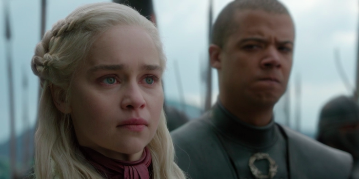 Plus, Big D has been steadily losing support from her most loyal advisors (Tyrion, Varys), as well as important allies (especially Sansa Stark).