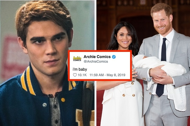 Image result for royal baby archie riverdale