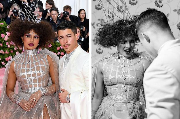 Priyanka Chopra Left A Flirty Comment On Nick Jonas's Met