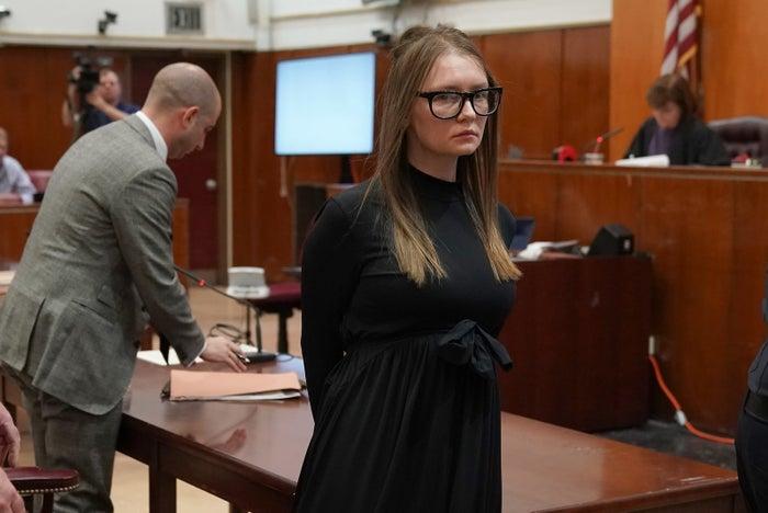 Anna Sorokin in court May 9.
