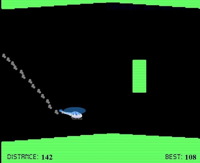 Flappy Bird wanted what Helicopter Game had.